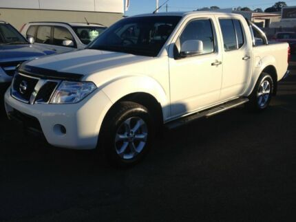 2012 Nissan Navara D40 S6 MY12 ST White 6 Speed Manual Utility Cleveland Redland Area Preview