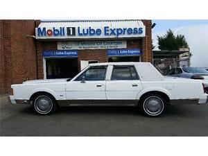 Rare Find! 1989 Lincoln Town Car Signature Brand New Cond! 5.0L