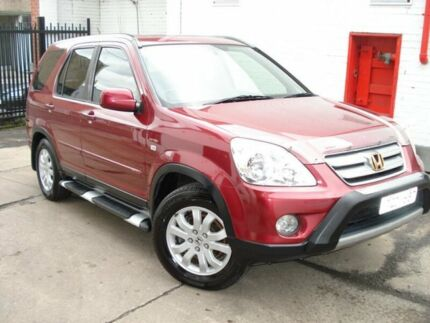 2006 Honda CR-V RD MY2006 Sport 4WD Burgundy 5 Speed Automatic Wagon West Footscray Maribyrnong Area Preview