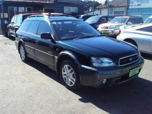 2002 Subaru Outback MY02 Limited Green 5 Speed Manual Wagon Punchbowl Canterbury Area Preview