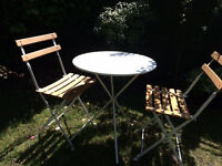 Habitat Bistro Table & 2 chairs