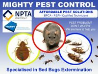 100%Guaranteed Pest Control Get rid of & Eliminate Bed bugs, Mice, Ants, Flea, Cockroaches From £50