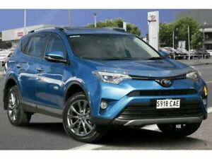 2016 Toyota RAV4 ASA44R Cruiser AWD Blue Gem 6 Speed Sports Automatic Wagon