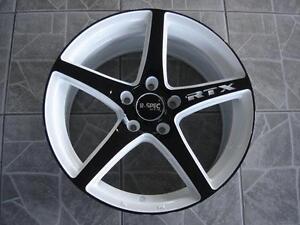 """Kit roues de mag avec pneus neufs 17"""" #M30"""