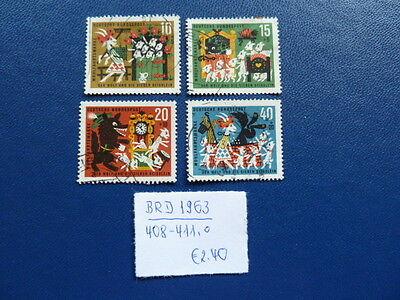 BRD 1963 WOHLFAHRT M RCHEN DER GEBR DER GRIMM V MICHEL 408 411 O