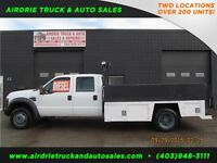 2008 Ford Super Duty F-550 XL 4X4 Flat Deck 11' Diesel