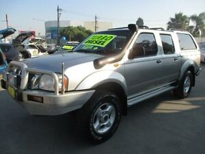 2002 Nissan Navara D22 ST-R (4x4) Turbo Diesel !! 5 Speed Manual Dual Cab Pick-up Granville Parramatta Area Preview