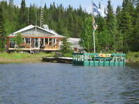 chalet a vendre lac talbot mont valin