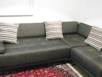 Lovely Comfortable Habitat Sofa's -Good Condition