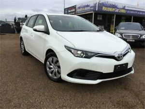 2018 Toyota Corolla ZRE182R Ascent Glacier White Constant Variable Hatchback Minchinbury Blacktown Area Preview