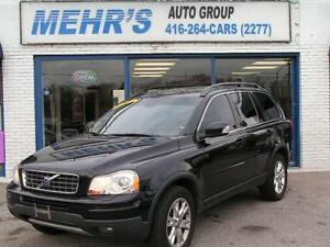 2007 Volvo XC90 3.2 AWD Loaded Dual DVD 7Pass Financing Avail.
