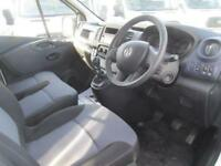 Vauxhall Vivaro 2900 1.6Cdti 115Ps L2 H1 Van DIESEL MANUAL WHITE (2015)