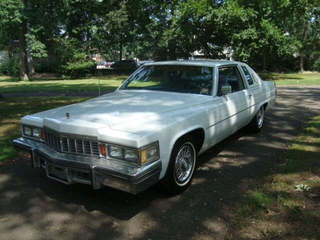 Image 1 of Cadillac: DeVille White…