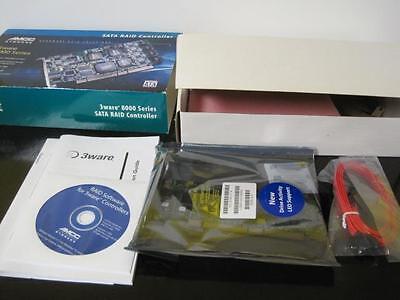 - AMCC Storage SATA RAID Controller 8006-2LP 2-Port 3Ware 8000 Series