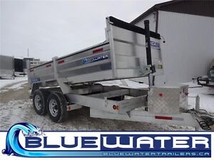 2016 5 Ton ALUMINUM Dump Trailers!! IN STOCK UNITS-CALL TODAY!!
