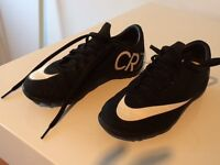 Nike CR7 astro shoes childrens size 2