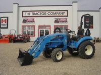 LS XJ2025 Tractor Package, c/w, loader, tiller, mower, blade