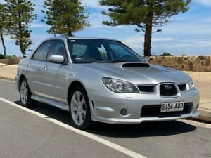 2005 Subaru Impreza S MY05 WRX AWD Silver 5 Speed Manual Sedan Christies Beach Morphett Vale Area Preview