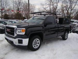 2015 GMC Sierra 1500 Regular Cab with Rack and Toolboxes