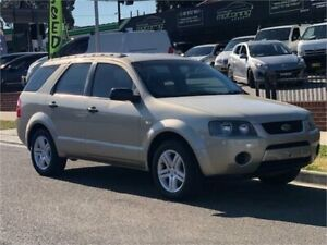 2005 Ford Territory SY TX Gold Sports Automatic Wagon Auburn Auburn Area Preview