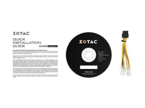 ZOTAC GeForce GTX 1080 Mini, ZT-P10800H-10P, 8GB GDDR5X IceStorm Cooling, Dual F 5