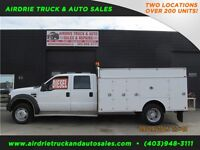 2008 Ford Super Duty F-550 XL 4X4 12' Utiility Service Body