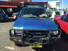 2001 Holden Rodeo TFR9 LX (4x4) Blue 5 Speed Manual Crewcab Cardiff Lake Macquarie Area Preview
