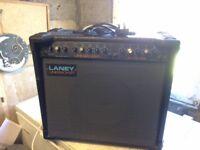 Laney Linebacker 100 reverb amplifier