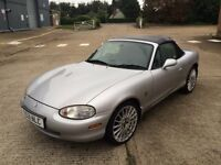 Mazda MX5 1.8 - 1999 - Convertible - 88,000 Miles - Petrol / Manual - New Cambelt - 12 Months MOT