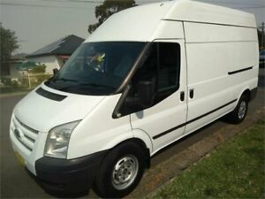 2013 Ford Transit VM MY13 350 High Roof White 6 Speed Manual Van Lidcombe Auburn Area Preview