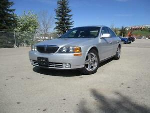 2002 Lincoln LS with Premium Package