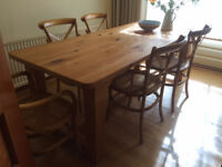 Dining Table and Chairs and Console