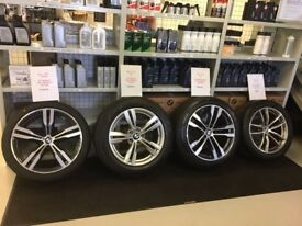 GENUINE BMW ALLOYS AND TYRES