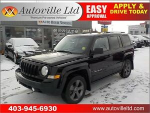 2015 Jeep Patriot High Altitude 4wd leather roof
