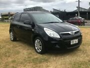 2010 Hyundai i20 PB Active Black 5 Speed Manual Hatchback Mile End South West Torrens Area Preview