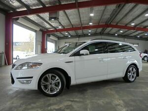 2012 Ford Mondeo MC ZETEC TDCi White Auto Sports Mode Wagon Welshpool Canning Area Preview