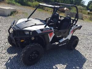 2016 POLARIS RZR 900 WHITE LIGHTNING w/Bumpers-FACTORY CLEARANCE