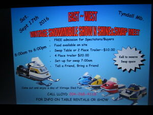 VINTAGE SNOWMOBILE SWAP MEET + SHOW