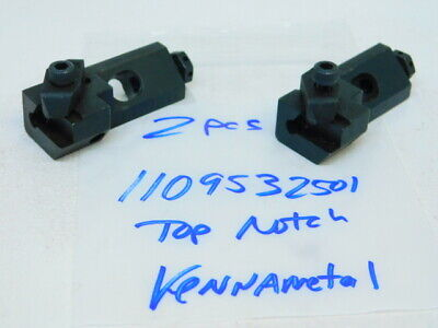 Used 2pcs. Kennametal Carbide Insert Indexable Tool Cartridge 1109532501 Ng3l