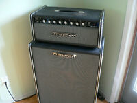 1974 Traynor YRM-1 Reverb Master and matching YT-12 Cabinet
