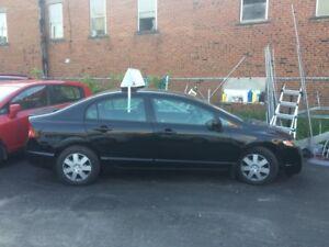 Honda Civic2009  DX-G 157.000 km ***  GARANTIE 12 MOIS ***