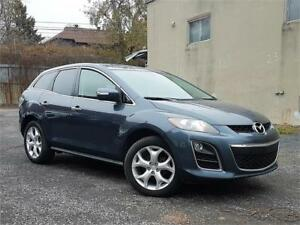 2011 Mazda CX-7 GT/4X4/4CYL/CUIR/TOIT/CAMERA/BLUETOOTH/CRUISE!!!