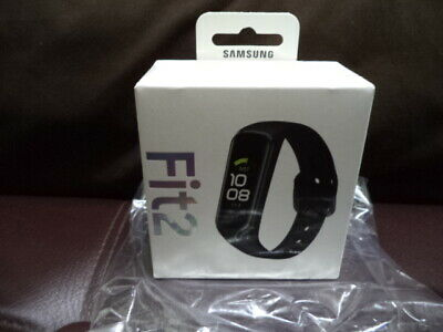 NEW SAMSUNG GALAXY GEAR FIT2 SMART WATCH FIT 2 BLACK FITNESS TRACKER ANDROID