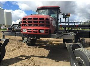 2009 MacDon M150 SWATHER w/ 35' DRAPER - NEW KNIVES & GUARDS