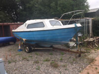 Pedro 17 Sailing Boat With Trailer