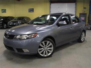 2010 Kia Forte SX/5 SPEED MANUAL/LEATHER/SUNROOF Accident Free