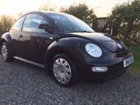 VW Beetle 2001 1.6 petrol in Black