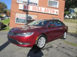 2015 Chrysler 200 LX, As Low as 116.13 Bi Weekly, $0 Down!!