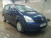 TOYOTA COROLLA 2.2 D4D 2005 BREAKING FOR SPARES TEL 07814971951 WE HAVE FEW IN STOCK