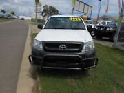 2009 Toyota Hilux TGN16R Workmate White 5 Speed Manual Dual Cab Garbutt Townsville City Preview